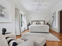 BASSIKE fashion designer Deborah Sams and her husband Toby have upgraded homes in Avalon. Southern California Style, Lush Garden, Spanish Colonial, Bean Bag Chair, Contemporary, Bedroom, Architecture, Design, Sams