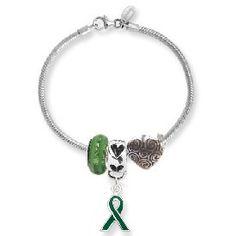 Organ Donor Awareness Bead Bracelet