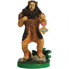One of my favorite discoveries at WBShop.com: The Wizard of Oz Cowardly Lion Medal Figurine