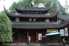 Templo budista en Chengdu