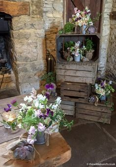 Cripps Barn is a classic Cotswold Stone Barn. Top Bristol Wedding Florists, The Wilde Bunch bringing their inspirational style to Cripps Barn in The Cotswolds. Wedding Venues Uk, Barn Wedding Venue, Rustic Wedding, Barn Wedding Flowers, Cripps Barn Wedding, Stone Barns, Old Stone, Old Antiques, Floral Style