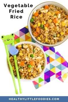 This easy fried rice recipe can be made in 10 mins and can easily be adapted to suit taste. A great way to get kids eating their vegetables