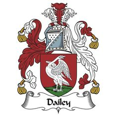 "Dailey Coat of Arms / Dailey Family Crest"" T-Shirts & Hoodies by ..."