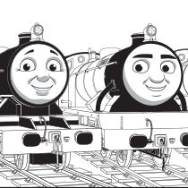 emily tank engine coloring pages - photo#20
