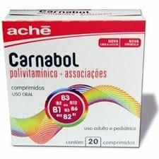 É um Polivitamínico, Vitamina Estimulante do apetite utilizado para suprir as nossas necessidades de vitaminas e minerais em nossa dieta, uma grande dúvida é, será que o Carnabol Engorda Mesmo ?