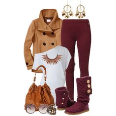Festive Fall, created by hollyhalverson on Polyvore