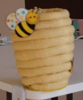 """Pen holder for """"bee"""" themed classroom"""