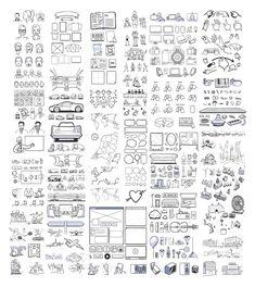 실력있는 기획자에게 필요한 무료 스토리 보드 아이콘 430+ - 열정 야매자료실