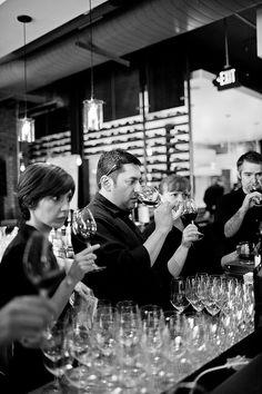 Staff at Vino Rosina Wine Tasting Pre-Event, via Flickr.