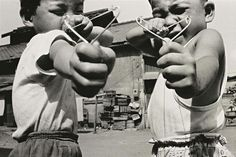 Satchin and his brother Mabo by Nobuyoshi Araki.