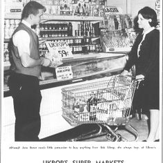 Ukrops - A great local Richmond, VA grocery store.  They are out of business now  but we miss them.