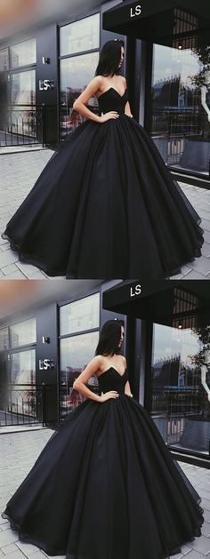 Stylish A-Line Sweetheart Ball Gown Black Satin Long Prom/Ev.- Stylish A-Line Sweetheart Ball Gown Black Satin Long Prom/Evening Dress prom,prom dress, black prom dress, evening dresses, 2018 prom dress - Prom Dresses 2018, Cheap Prom Dresses, Quinceanera Dresses, Ball Dresses, Dress Prom, Prom Dresses Black Long, Wedding Dresses, Party Dress, Prom Long