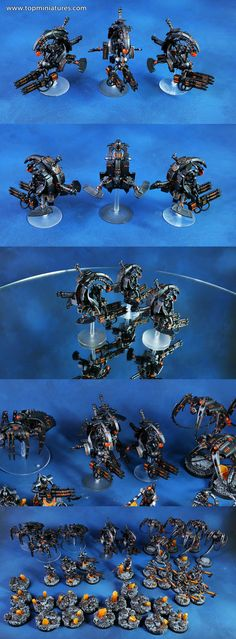 Top Miniatures is one of the largest commission painting studio, painting Warhammer & other miniature boardgames worldwide for USA, UK & Australia Warhammer 40k Necrons, Warhammer Figures, Warhammer 40k Miniatures, Necron Army, Sci Fi Models, Game Workshop, Painting Services, Painting Studio, The Grim