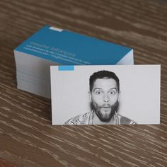 Business Cards for Max Lefrancois on matte 16pt. #businesscards #graphicdesign