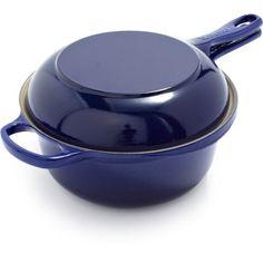 Le Creuset® Indigo Two In One Pan | Sur La Table