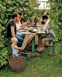 Dacha Grilling Party on Food & Wine--this is where all of those great Russian recipes we made came from.