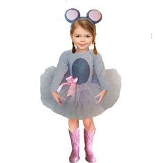 Toddler mouse costume with skirt Fairy Halloween Costumes, Hallowen Costume, Tutu Costumes, Halloween Outfits, Halloween Party, Halloween Halloween, Vintage Halloween, Halloween Makeup, Costume Ideas