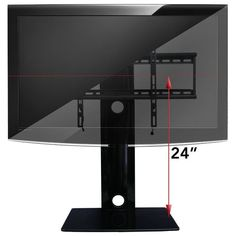 """How it measures up! -  This TV mount with shelf measures 29 inches tall from bottom to top of column which is not including TV height. The shelf is 17.5"""" wide and 14"""" deep (12"""" deep of usable shelf space). The shelf has the ability to hold up to 35 pounds each without exceeding the total weight of 110 pounds including the TV. Maximum TV weight is 80 pounds. This unit weighs in at just 21 pounds. http://www.av-express.com/TV-Wall-Mount-With-Shelf"""