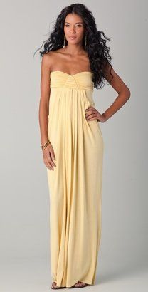 Shop for Long Fortuna Strapless Dress by Rachel Pally at ShopStyle. Love Fashion, Fashion Beauty, Fashion Outfits, Fashion Design, Pretty Outfits, Cute Outfits, Yellow Maxi, Wedding Bridesmaid Dresses, Bridesmaids
