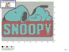 SNOOPY ON SNOOPY by JODY -- WALL HANGING