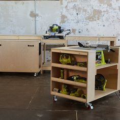 Workbench & Tool Car