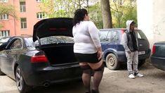 Hijack by real femdom on the street - únos v přímém přenosu