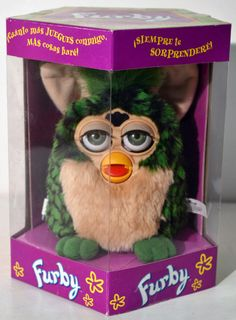 GO FURBY - #1 Resource For Original Furby Fans!: Spanish Furby by Tiger Electronics - RARE!!!