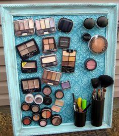 Creative DIY Makeup Storage Ideas | Mod City Mag
