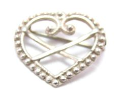 This sterling silver piece was originally cast for a family member by request and became a favorite. It is - of course - a piece for the Ostfold Bunad. The dimensions of this piece are All Art, Brooch Pin, Heart Shapes, Costume Jewelry, Heart Ring, Gold Rings, Rose Gold, Sterling Silver, Norway