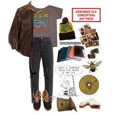 Mode Outfits, Retro Outfits, Grunge Outfits, Grunge Fashion, School Outfits, Boho Fashion, Vintage Outfits, Casual Outfits, Fashion Outfits