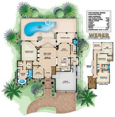 Catania I House Plan just needs walk in closets in bedrooms 2 and