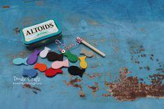 Pocket Sized Magnetic Fishing Set in Altoids tin!