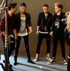 #225 - The boys at a photoshoot