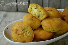 Posne šarene projice Flour Recipes, Cooking Recipes, Delicious Vegan Recipes, Yummy Food, Kiflice Recipe, Low Carb Brasil, Party Food Platters, Best Party Food, Croatian Recipes