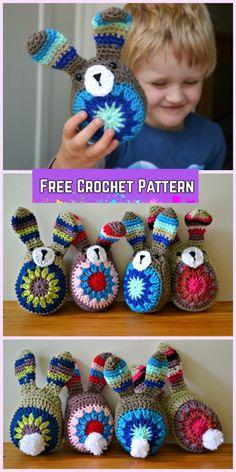 Mesmerizing Crochet an Amigurumi Rabbit Ideas. Lovely Crochet an Amigurumi Rabbit Ideas. Crochet Easter, Easter Crochet Patterns, Crochet Amigurumi Free Patterns, Crochet For Kids, Crochet Gifts, Diy Crochet, Crochet Dolls, Crochet Baby, Crochet Bunny Pattern
