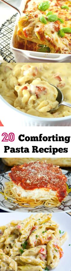 Every one of these pasta recipes needs to go on your menu! SO so yummy!