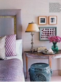 Lavender bedroom decor