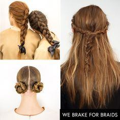 - Braids are still going strong but this season—skip the basic plaits and opt for fishtails, inverted styles and ones wrapped into playful buns.Mansur Gavriel, Mansur Gavriel, Rachel Zoe