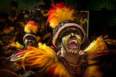 """Festival Spirit by Dennis Bautista  """"This photo was taken during the Aliwan Festival in Manila and this dancer belongs to the Dinagyang Tribe of Iloilo City, Philipines."""""""