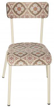 Chaise Suzie Carreaux de ciment 1