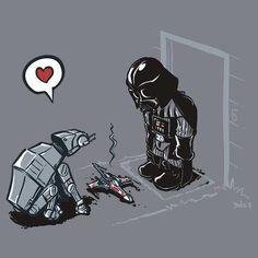 Star Wars pet ... Aww