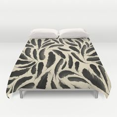Tar & Feather Duvet Cover by Skye Zambrana - $99.00