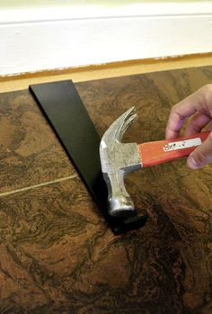 Young House Love | How To Install A Floating Cork Floor