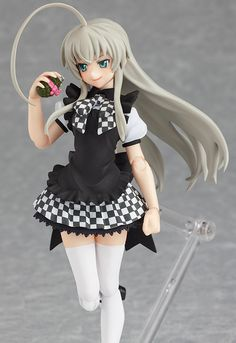 """...and an """"unholy hand grenade."""" Just look at that adorably sinister countenance!    #Anime #Figure"""