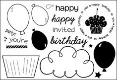 happyBday2you - Stamps of Life stampsoflife.com