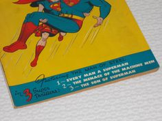 SUPERMAN-57-Vintage-DC-Comic-Book-Golden-Age-1949-Lois-Lane-as-Superwoman-NICE