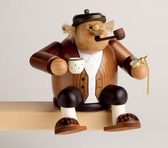 Smoker Grandfather - 15 cm / 6 inches $61.00 plus shipping