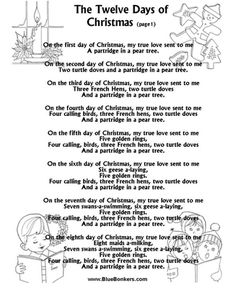 Christmas sing lyrics