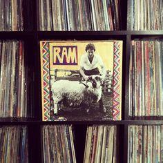 another $3 vinyl score from today. Sounds amazing! #nowspinning #paulandlindamccartney #ram #vinyl #recordcollection #love 1971