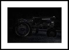 A used, abused, and forgotten Farmall 304 tractor, left alone on the side of a rural road. Farmall Tractors, Left Alone, Cowboy And Cowgirl, Country Life, Fine Art Photography, Farmer, Monster Trucks, Photographs, Image
